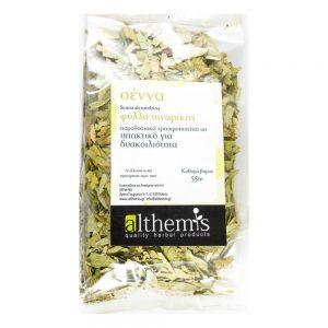 Σέννα - Φύλλα Αλεξανδρείας - Σιναμίκης (Cassia angustifolia)