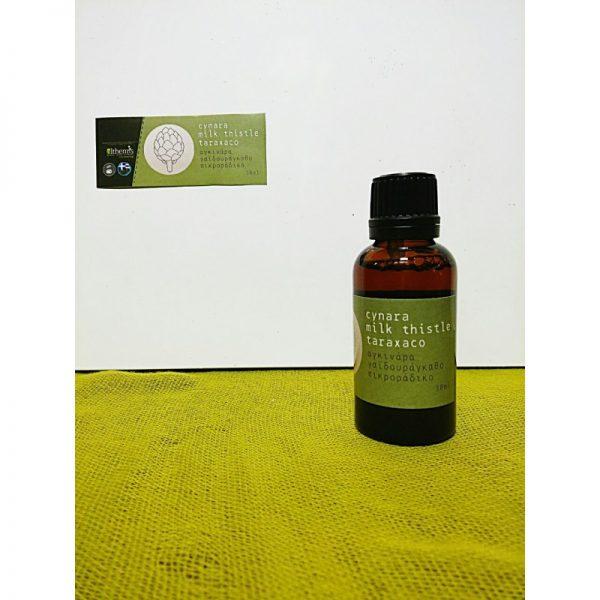 Βάμμα Αγκινάρα - Γιαϊδουράγκαθο – Αγριοράδικο 30ml