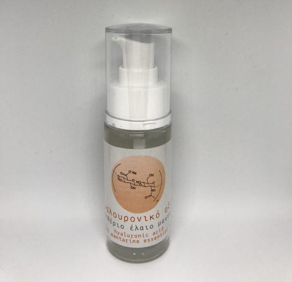 Υαλουρονικό Οξύ με αιθέραιο έλαιο Μανταρίνι 50ml